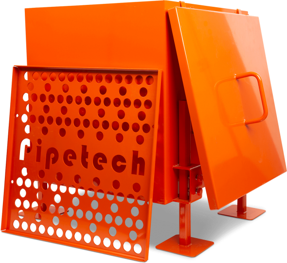 Pig Receiving Bin - Pipetech Corporation